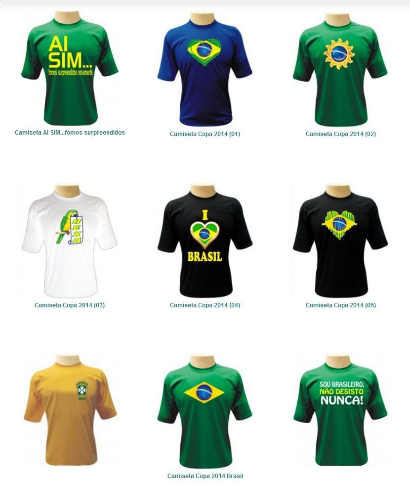 Camisetas Personalizadas » Camisetas Copa 2014 48f17566af280